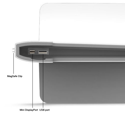 Henge MacBook Air Dock - internal