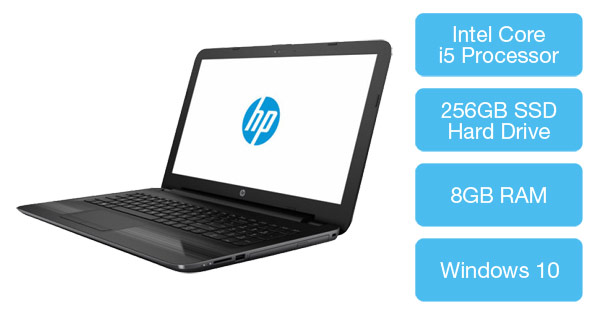 HP 250 G5 Business laptop with Intel Core i5 Processor