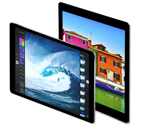 iPadPro 12.9 inch display