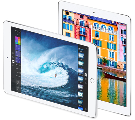 iPadPro 9.7 inch display