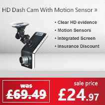 Full HD Dashcam with motion sensor