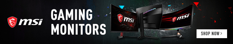 MSI gaming monitors