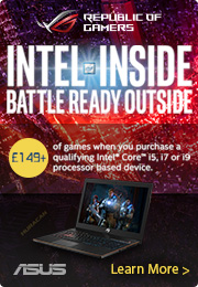 Asus ROG Intel Promotion