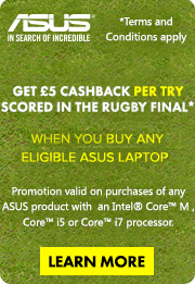Asus Rugby Promotion