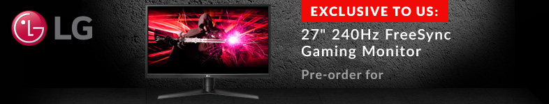 Exclusive LG Gaming Monitor