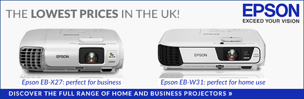 Epson projectors for home and office