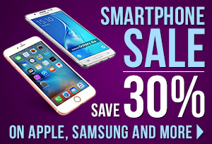 Smartphone Sale - Save 30% on Apple, Samsung and more