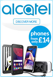 Alcatel - phones from only £49