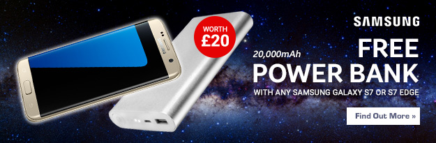 Free Power Bank with Selected Phones