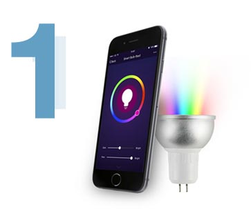 Smart bulb gifts for father's day