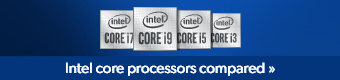 Intel core processors compared