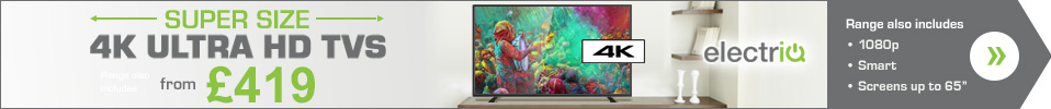 Full Range of electriQ TVs