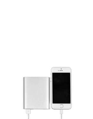 10400 mAh power bank with iphone