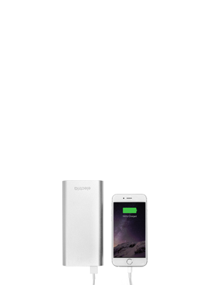20800 mAh power bank with iphone