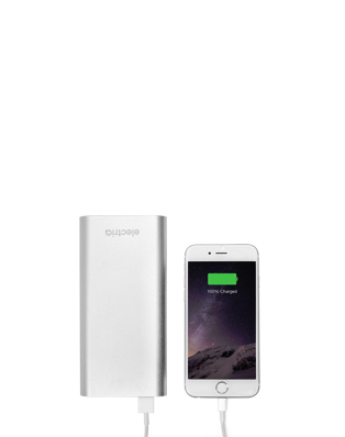 5200 mAh power bank with iphone