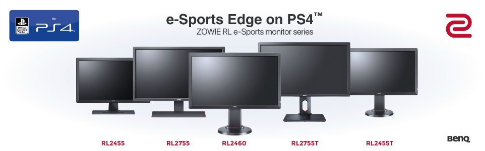 Zowie Esports Monitors
