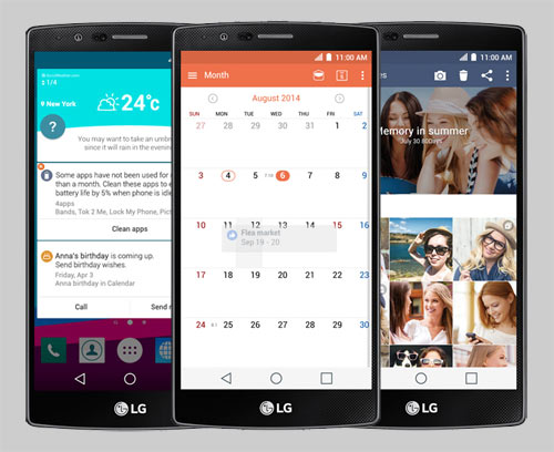 LG G4 removable 3,000 mAh battery and powerful performance