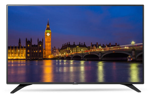LG LH604V 49 inch TV with smart capabilities