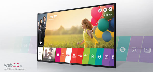 LG Smart TV with webOS and Freeview HD