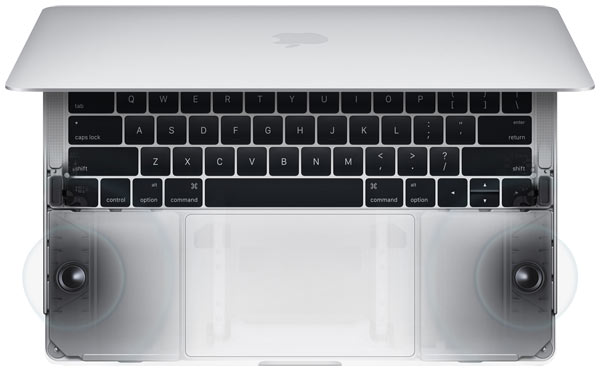 MacBook Pro speakers