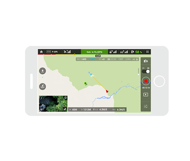 phantom 3 standard features gps