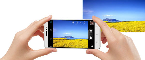 f/2.0 aperture 13MP rear camera and 5MP selfie camera