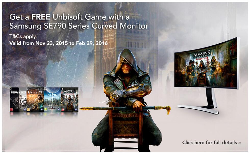 Free Samsung Ubisoft
