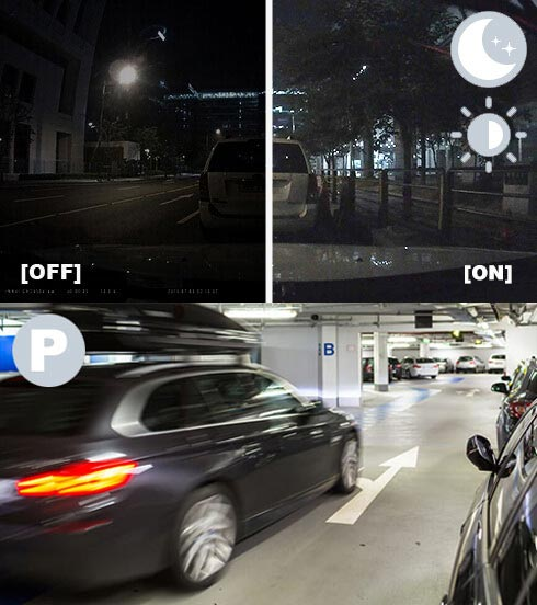 ThinkWare X550 Dash Cam Super Night Vision