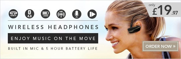 In-Ear Bluetooth Sports Headphones