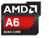 AMD A6 Quad Core CPU