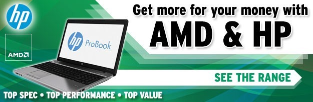 Get More For Your Money with AMD and HP