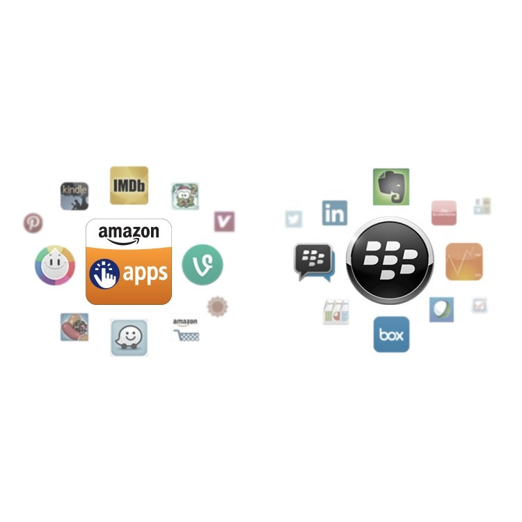 Blackberry Leap features