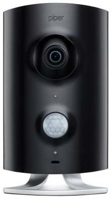 Piper IP security camera black