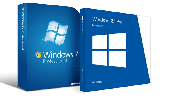 Windows 7 Pro / Windows 8.1 Pro