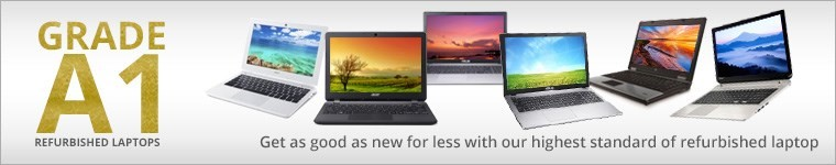 Grade A1 Refurbished Laptops