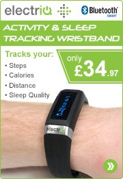 IQFit Activity and Health Tracking Fitness Band