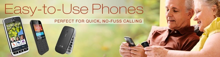 Easy-to-use phones for quick, no-fuss calling