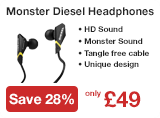 Monster Diesel Headphone