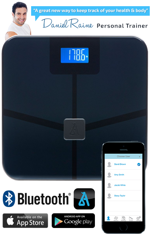 Blueanatomy Wireless Smart Body Scale