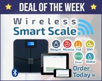 Blueanatomy Wireless Smart Body Scale with iOS & Android app