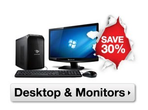 boxing day sale - desktops and monitors