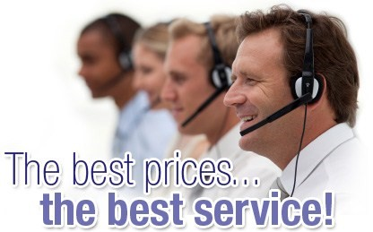The best prices, the best service!