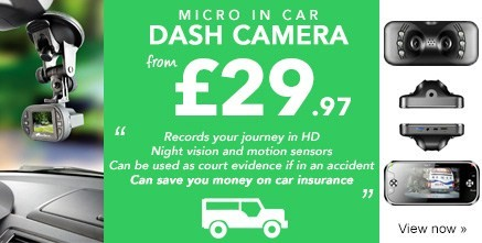 Micro In Car Dash Camera