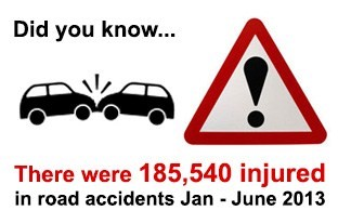 road injuries
