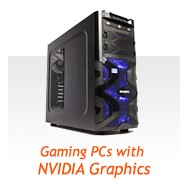 Gaming PCs with Nvidia Graphics