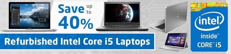 Refurbished Intel Core i5 Laptops