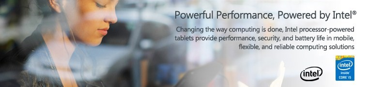 Tablets with Intel inside