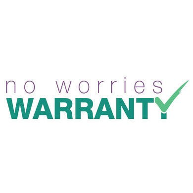 No Worries warranty logo