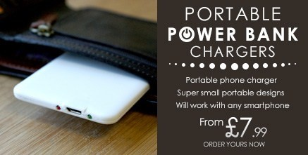 Portable Power Bank Charges