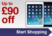 Up to 25% off iPads